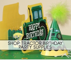 John Deere Tractor Farm Party Supplies