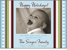 Jubiliee Soft Tones Photo Holiday Card
