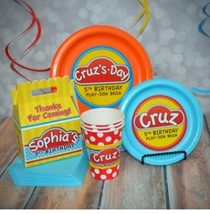 The Basics Personalized Play-Doh Party Pack for 12