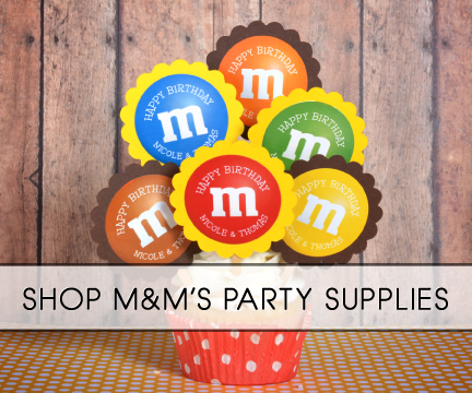 MampMs Party Supplies