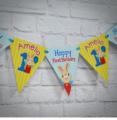 MADE-TO-MATCH<br>Personalized Highchair Mini Banner