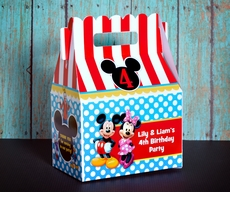 Mickey Mouse and Friends Party Gable Favor Box