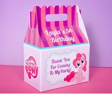 My Little Pony Party Gable Box Favor