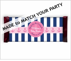 Personalized Full Size Hershey's� Candy Bar Wrappers Custom Theme