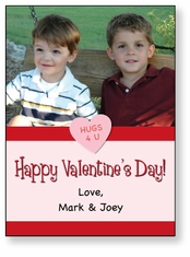 Photo Vertical Personalized Valentine