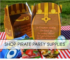 Pirate PAARRRTY Supplies