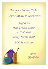 Pottery Invitation