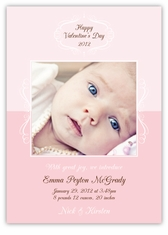 Precious and Sweet Photo Valentine�s Day Card