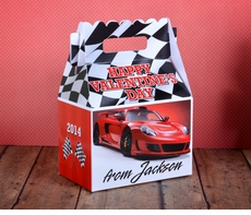 Red Hot Race Car<br>Valentine's Day Treat Box