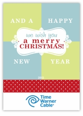 We Wish You... Corporate Christmas Photo Card