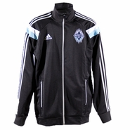 Vancouver Whitecaps FC adidas 2014 Authentic Anthem Jacket - Black