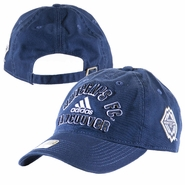 Vancouver Whitecaps FC adidas 2014 Slouch Adjustable Cap - Navy