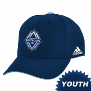 Vancouver Whitecaps FC adidas 2014 Youth Structured Adjustable Hat - Navy