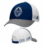 Vancouver Whitecaps FC adidas 2015 Authentic Team Structured Adjustable Hat - Navy