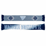 Vancouver Whitecaps FC adidas 2015 Sublimated Scarf - Blue