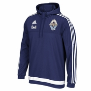Vancouver Whitecaps FC adidas 2015 Travel Hoody - Navy