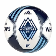 Vancouver Whitecaps FC adidas 2015 Tropheo Size 5 Soccer Ball - Blue