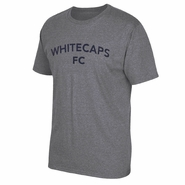 Vancouver Whitecaps FC adidas Athletic Triblend Tee - Grey