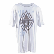 Vancouver Whitecaps FC adidas Bleedthrough Tee - White