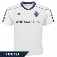 Vancouver Whitecaps FC adidas Boys Primary Call-Up Jersey - White