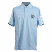 Vancouver Whitecaps FC adidas Clima Polo - Light Blue
