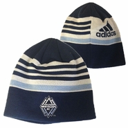 Vancouver Whitecaps FC adidas Coaches Knit Skully Hat - Navy
