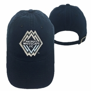 Vancouver Whitecaps FC adidas Fluff Logo Adjustable Hat - Navy