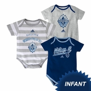 Vancouver Whitecaps FC adidas Infant Hat Trick Body Suit Set