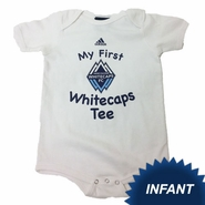 Vancouver Whitecaps FC adidas Infant My 1st Tee Creeper - White