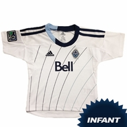 Vancouver Whitecaps FC adidas Infant Replica Short Sleeve Primary Jersey - White