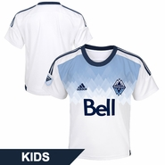 Vancouver Whitecaps FC adidas Kids 2015 Primary Replica Jersey - White