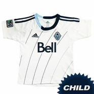 Vancouver Whitecaps FC adidas Kids Replica Short Sleeve Primary Jersey - White