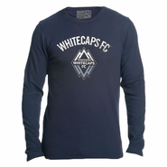 Vancouver Whitecaps FC adidas Long Sleeve Waffle Thermal - Navy