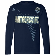 Vancouver Whitecaps FC adidas New Age Long Sleeve T-Shirt - Navy