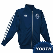 Vancouver Whitecaps FC adidas Originals 2014 Youth Legacy Track Jacket - Navy