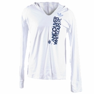Vancouver Whitecaps FC adidas Originals Women's Elevar Long Sleeve Hooded Tee - White