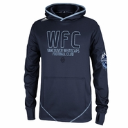 Vancouver Whitecaps FC adidas Pitchblack Pullover Hoodie - Navy
