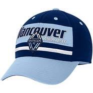 Vancouver Whitecaps FC adidas Structured Flex Hat - Navy/Light Blue