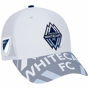 Vancouver Whitecaps FC adidas Team Adjustable Slouch Cap - White