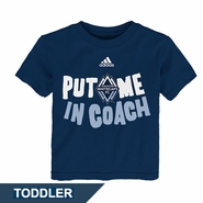 Vancouver Whitecaps FC adidas 'The Coach' Toddler Tee - Blue