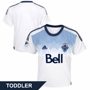 Vancouver Whitecaps FC adidas Toddler 2015 Primary Replica Jersey - White