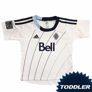 Vancouver Whitecaps FC adidas Toddler Replica Short Sleeve Primary Jersey - White