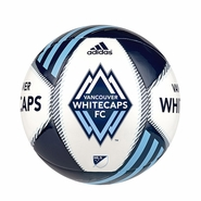 Vancouver Whitecaps FC adidas Tropheo Size 3 Soccer Ball - Blue
