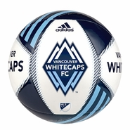 Vancouver Whitecaps FC adidas Tropheo Size 4 Soccer Ball - Blue