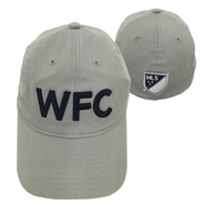Vancouver Whitecaps FC adidas WFC Structured Flex Fit Hat - Grey