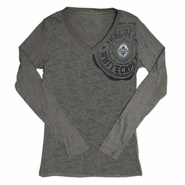 Vancouver Whitecaps FC adidas Women's Fashion Burnout Long Sleeve Tee - Grey - FINAL SALE