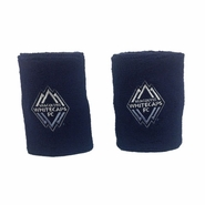 Vancouver Whitecaps FC adidas Wristbands - Navy