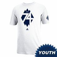 Vancouver Whitecaps FC adidas Youth 74 Peak T-Shirt - White