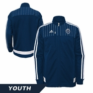 Vancouver Whitecaps FC adidas Youth Anthem Jacket - Navy