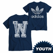Vancouver Whitecaps FC adidas Youth Big Time Triblend Tee - Navy
